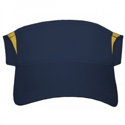 Sport-Tek Dry Zone Colorblock Visor Embroidery
