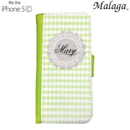 iPhone 5c Malaga Case - Green