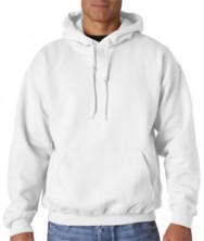 Gildan DryBlend Pullover Hooded Sweatshirt Embroidery