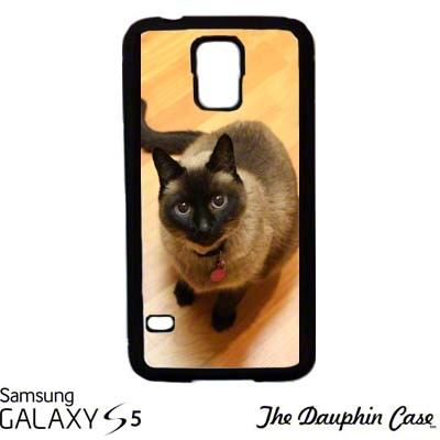 Galaxy S5 Dauphin Phone Case - Black
