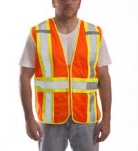 Job Sight Class 2 Adjustable Vest