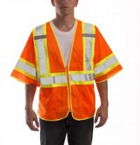 Job Sight Class 3 Two-Tone Mesh Vest