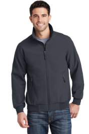 Port Authority Soft Shell Bomber Jacket Embroidery