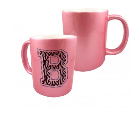Pink Metallic Mug - 11 oz