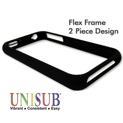 iPhone 4/4s Flex Frame Cover - Matte Black