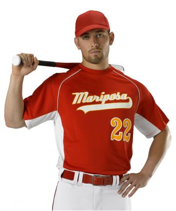 Youth Baseball Jersey Crew Neck