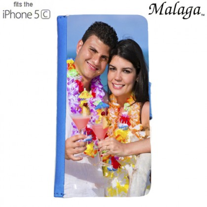 iPhone 5c Malaga Case - Blue