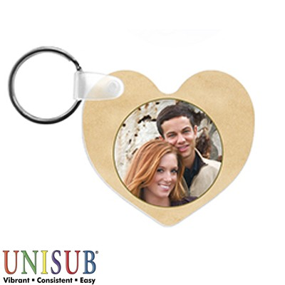 FRP Heart Key Tag