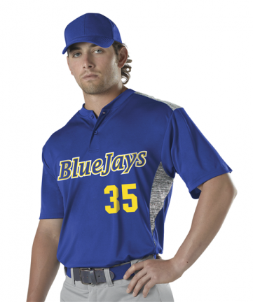 Youth Two Button Stock Baseball Jersey