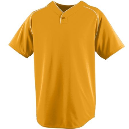 WICKING ONE-BUTTON BASEBALL JERSEY
