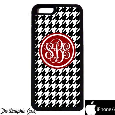 iPhone 6/6s Dauphin Rubber Phone Case - Black