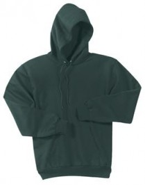 Port & Company Ultimate Pullover Hooded Sweatshirt Screen Printed