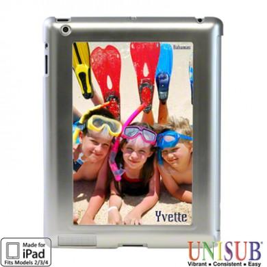 iPad 2/3/4 Unisub Flex Frame Cover -  Silver