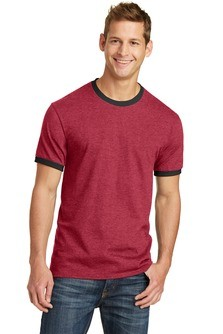 Port & Company 5.4-Oz 100% Cotton Ringer Tee