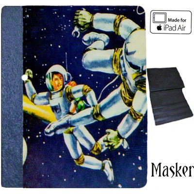 iPad Air Notebook Case - Blue