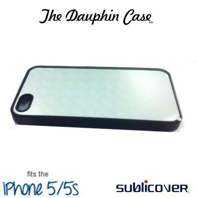 iPhone 5/5s Dauphin Rubber Case - Black