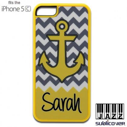 iPhone 5c Jazz Case - Yellow