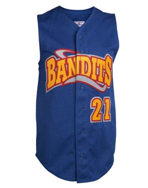 Adult Poly Tuff Mesh Sleeveless Jersey
