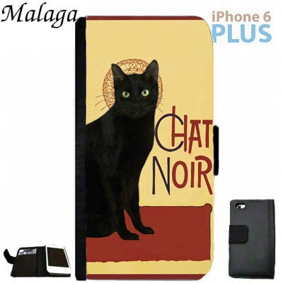 iPhone 6 Plus/6s Plus Malaga Case - Black