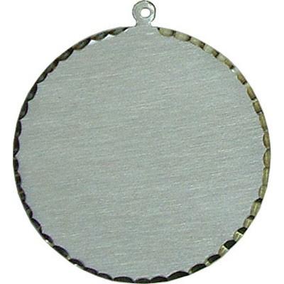 Silver Circle Charm - XL