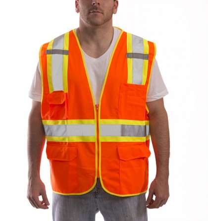 Job Sight Class 2 Two-Tone Surveyor Vest