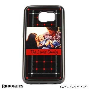 Galaxy S6 Brookley Phone Case - Black