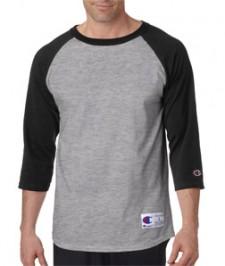 Champion Adult Raglan Baseball T-Shirt