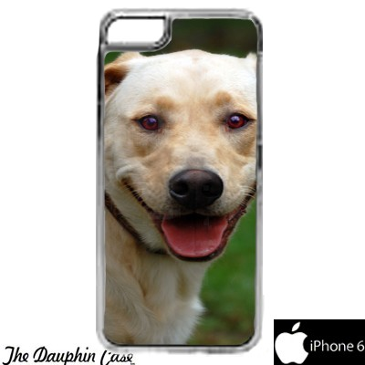 iPhone 6/6s Dauphin Rubber Phone Case - Clear