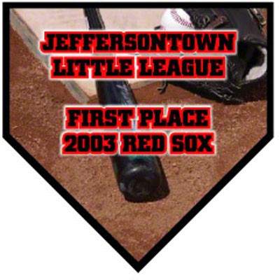 Home Plate Plaque