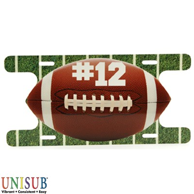 Action Football Plate