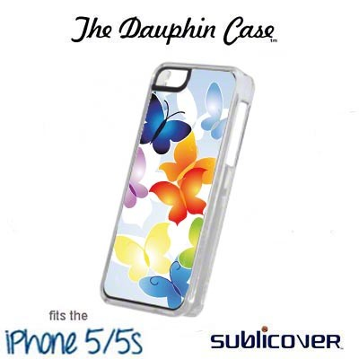 iPhone 5/5s Dauphin Rubber Case - White