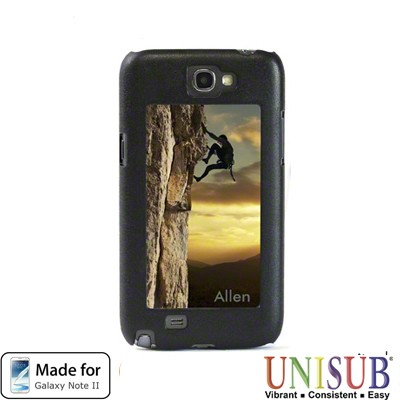 Galaxy Note 2 Unisub Flex Cover - Black