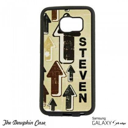 Galaxy S6 Edge Dauphin Phone Case - Black
