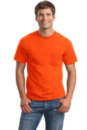 Gildan Ultra Cotton 100% Cotton T-Shirt with Pocket
