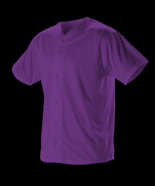 Youth Full Button Lightweight Baseball Jersey