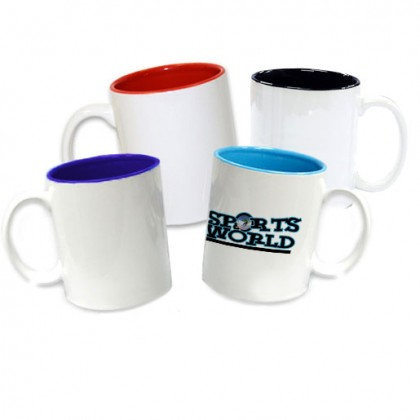 Two Tone Colored Mug - 11oz