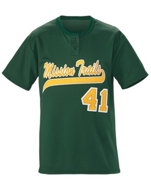 Youth Slugger Solid 2-Button Jersey