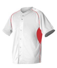 Adult 2 Color Full Button Baseball Jersey