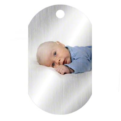 Unisub Silver ID Tag