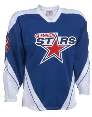 Adult Breakaway Hockey Jersey With Incline Design