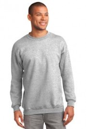 Port & Company Ultimate Crewneck Sweatshirt Embroidery