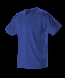 Adult Full Button Lightweight Baseball Jersey
