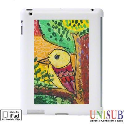 iPad 2/3/4 Unisub Flex Frame Cover -  White