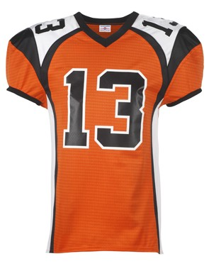 Adult Red Zone Steelmesh Football Jersey