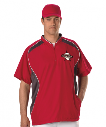 Youth Short Sleeve Baseball Batters Jacket