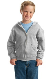 JERZEES Youth NuBlend Full-Zip Hooded Sweatshirt