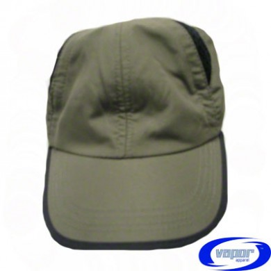 Vapor Back Country Hat - Olive with Black Trim