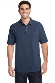 Port Authority Digi Heather Performance Polo Embroidery