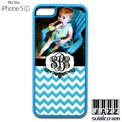 iPhone 5c Jazz Case - Blue