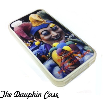 iPhone 4/4s Dauphin Rubber Case - Clear